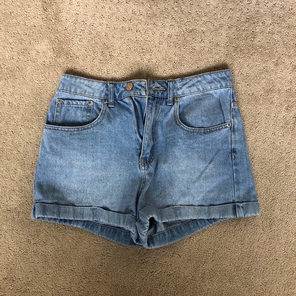 Forever 21 Pants - Cuffed denim shorts
